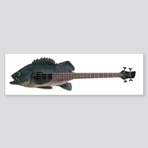 Bass Guitar Bumper Sticker