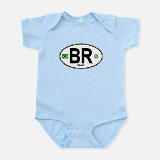 Brazil Intl Oval Body Suit