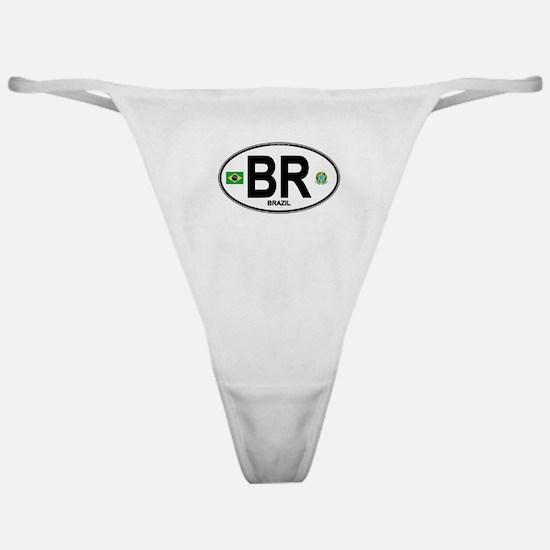 Brazil Intl Oval Classic Thong