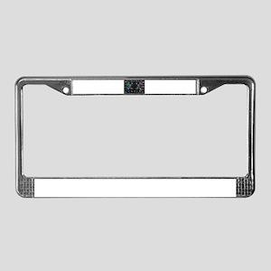 hologram Medusa License Plate Frame