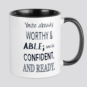 Black Man Confidence Mugs