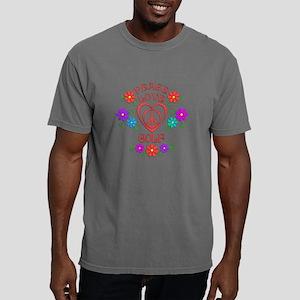 Peace Love Golf Mens Comfort Colors Shirt
