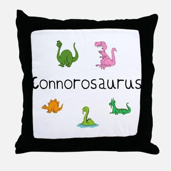 Connorosaurus Throw Pillow