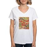 Flat Arizona Women's V-Neck T-Shirt