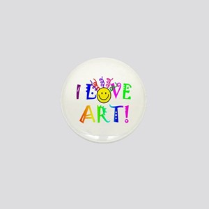 Love Art Mini Button