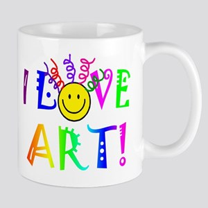 Love Art 11 oz Ceramic Mug