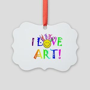 Love Art Picture Ornament