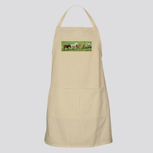 Foals in a Row Apron