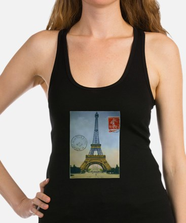 VINTAGE EIFFEL TOWER Tank Top
