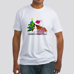 Beagle Fitted T-Shirt