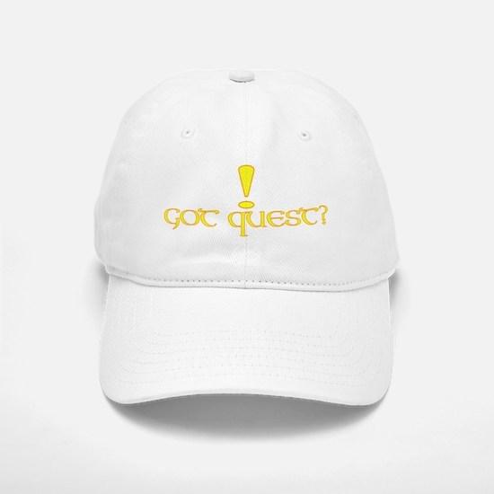 Got Quest? Baseball Baseball Cap