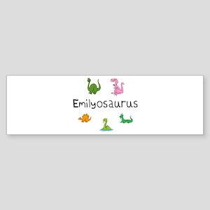 Emilyosaurus Bumper Sticker