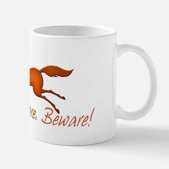 Chestnut Mare, Beware! Mug