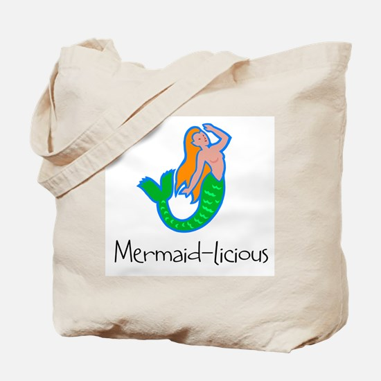 Mermaid-licious! Tote Bag