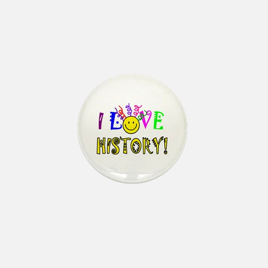 Love History Mini Button