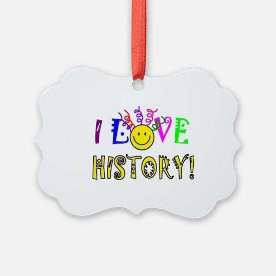 Love History Ornament