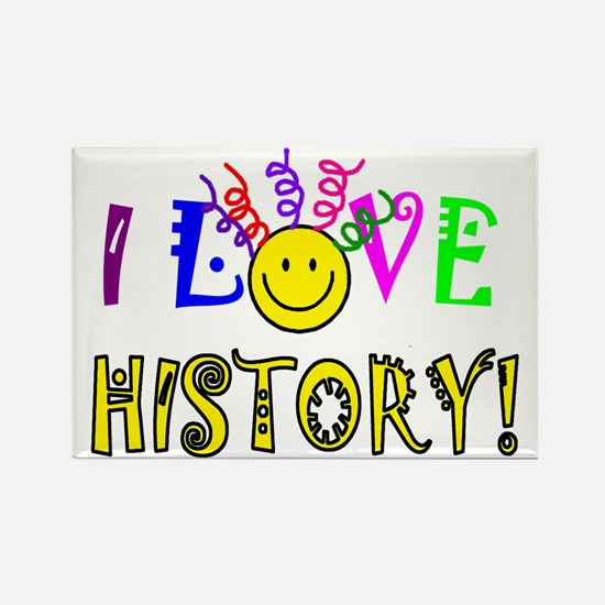 Love History Rectangle Magnet