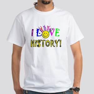 Love History White T-Shirt