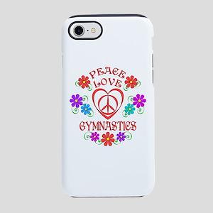 Peace Love Gymnastics iPhone 7 Tough Case
