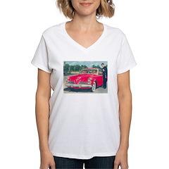 Red 1953 Studebaker on Shirt