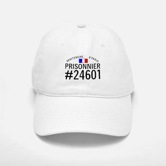 Prisonnier #24601 Baseball Baseball Cap