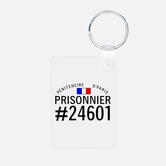 Prisonnier #24601 Keychains