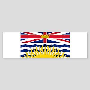 British Columbia flag Bumper Sticker