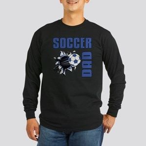 Soccer Dad Long Sleeve Dark T-Shirt
