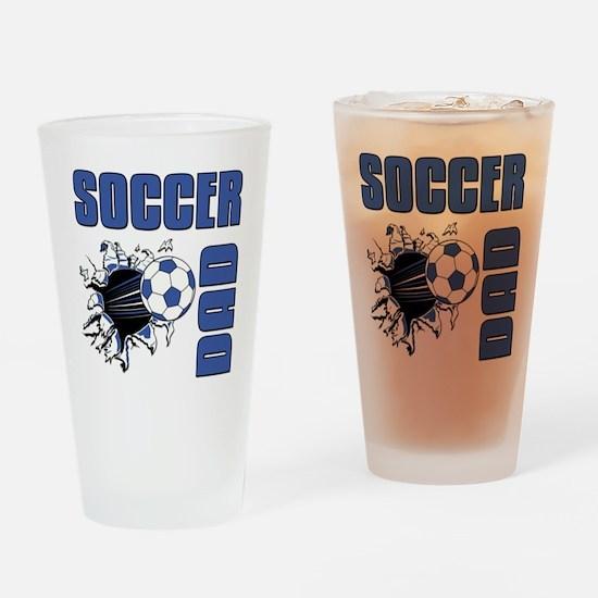 Soccer Dad Drinking Glass