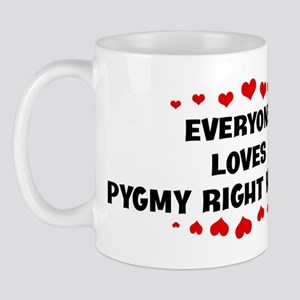 Loves: Pygmy Right Whales Mug
