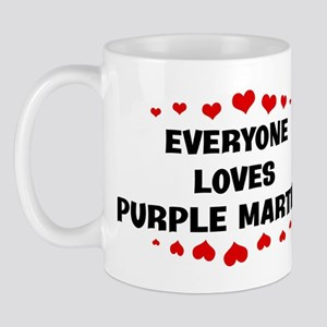 Loves: Purple Martins Mug