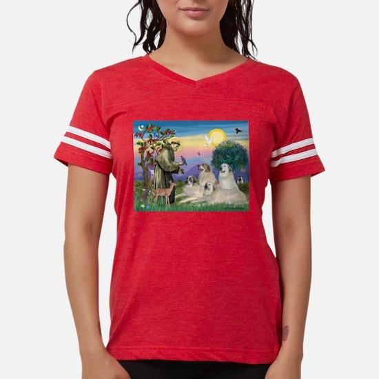 St Francis & Great Pryenees T-Shirt