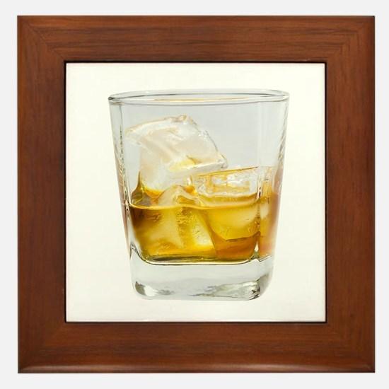 Whiskey Framed Tile