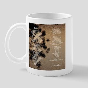 """""""Failure"""" Poem Mug"""