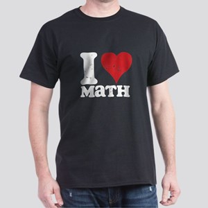 I Love Math Dark T-Shirt