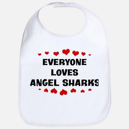 Loves: Angel Sharks Bib