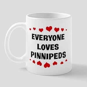 Loves: Pinnipeds Mug