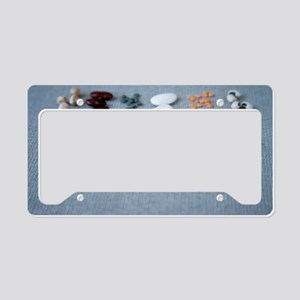 Assorted beans and pulses License Plate Holder