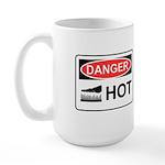 Danger Hot Large Mug