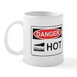 Danger Hot Mug Mugs