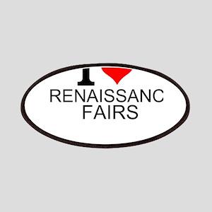 I Love Renaissance Fairs Patch