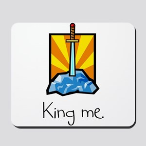 King me. Mousepad