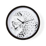 Cheetah Great Cat Wall Clock
