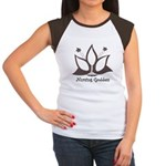 Nursing Goddess (large logo) Cap Sleeve T-Shirt