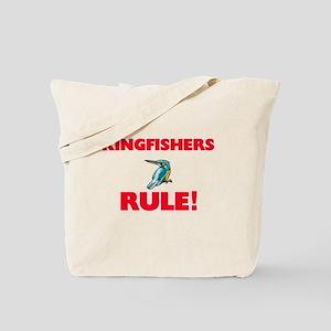 Kingfishers Rule! Tote Bag