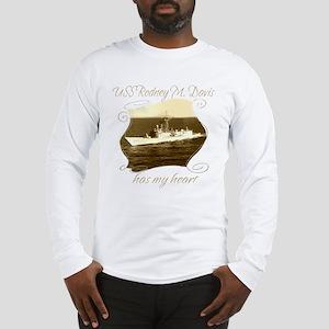 USS Rodney M Long Sleeve T-Shirt