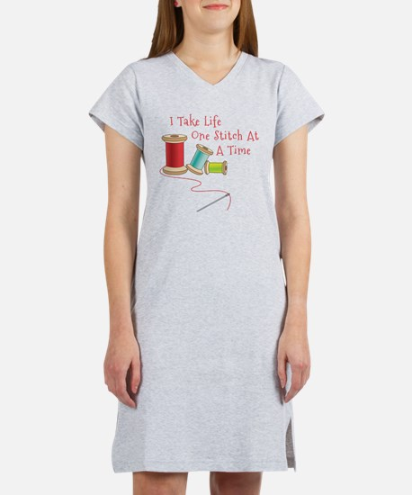 One Stitch at a Time Women's Nightshirt