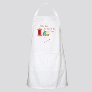 One Stitch at a Time Apron