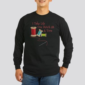One Stitch at a Time Long Sleeve T-Shirt