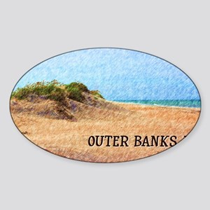 Outer Banks NC Beach Dune Sticker